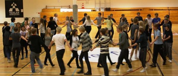 Dansæfing fyrir 1. des. ball 2010