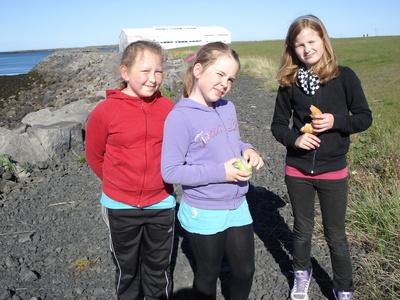 Gönguferð um nesið í maí 2010