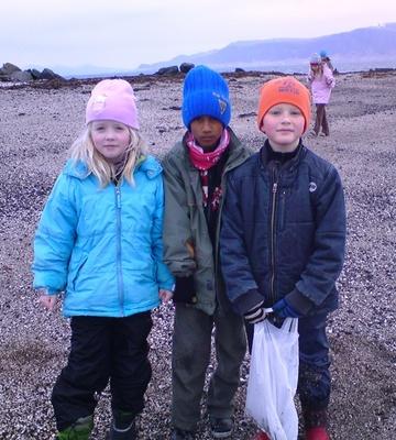 Gróttuferð í 2. bekk apríl 2010