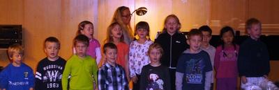 Tónleikar hjá 1. bekk í nóv 2009
