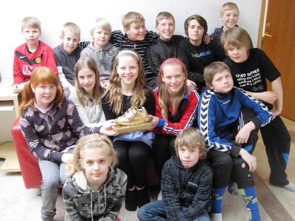 6-A gullskórinn 2010
